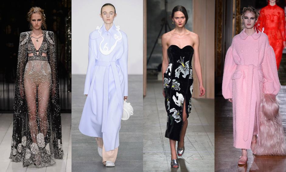 Alexander McQueen, Xiao Li, Erdem, Simone Rocha