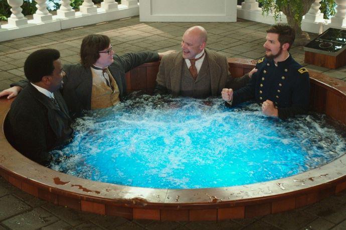 «Машина времени в джакузи 2» (Hot Tub Time Machine 2) фильм