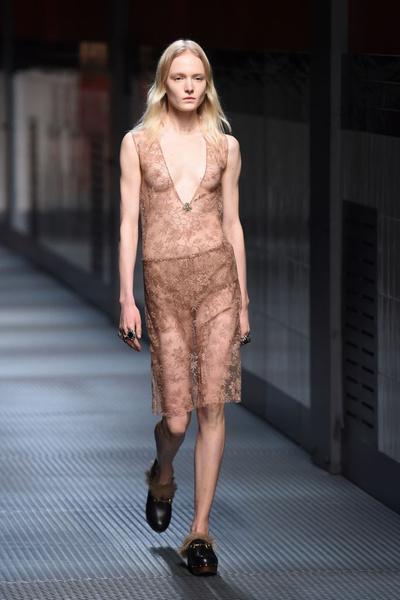 Показ Gucci на Неделе моды в Милане | галерея [1] фото [7]