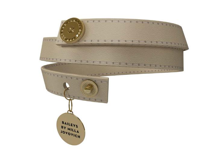 Милла Йовович создала эксклюзивный браслет Baileys® By Milla Jovovich