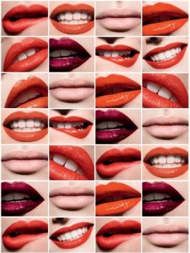 макияж Dior: тональный крем Diorskin Nude, 032 и рассыпная пудра Diorskin Nude, 010; помада Rouge Dior, 999; Dior Addict Rouge à Levrès, 489 и 857; Dior Addict Lipcolor, 763 и 943; Dior Addict High Shine, 754; Sérum de Rouge, 730