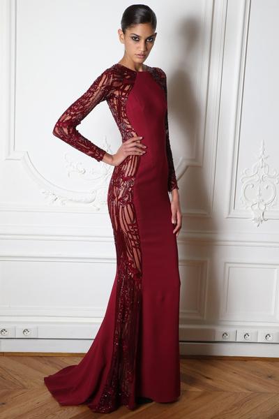 15 лучших красных платьев из осенне-зимних коллекций | галерея [1] фото [1]