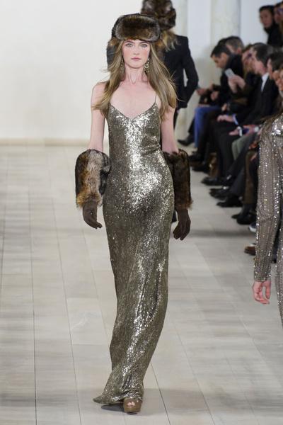 Показ Ralph Lauren на Неделе моды в Нью-Йорке | галерея [1] фото [1]