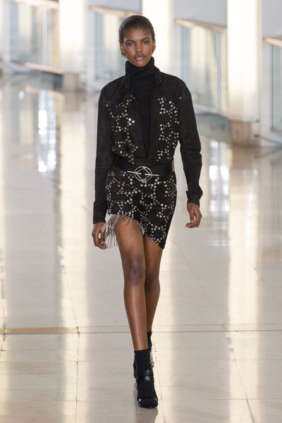 Показ Anthony Vaccarello на Неделе моды в Париже | галерея [2] фото [9]