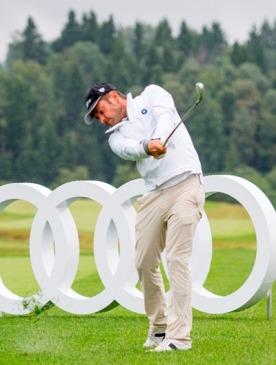 В России прошел первый международный турнир по гольфу Audi quattro Cup