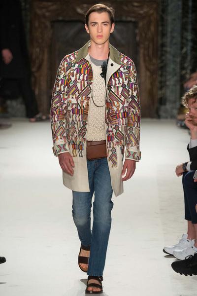 Неделя мужской моды в Париже: лучшие показы | галерея [1] фото [17]
