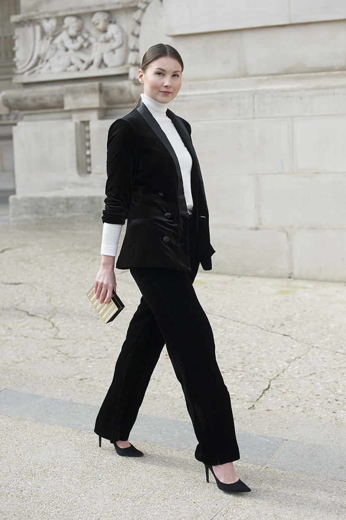 стритстайл неделя моды в париже
