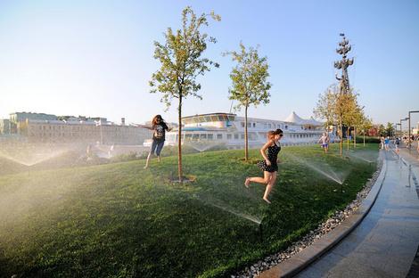 Парк Горького открывает летний сезон   галерея [1] фото [14]