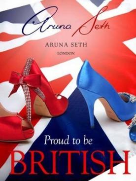 Королевская обувь от Aruna Seth