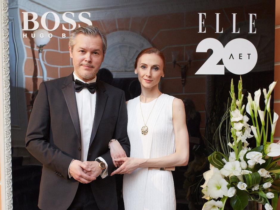Вадим Репин (в костюме BOSS) и Светлана Захарова (в платье BOSS и украшениях Bulgari)