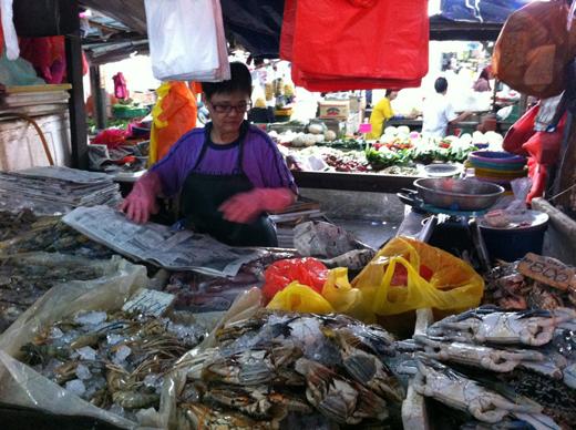 Рынок в Куала-Лумпуре