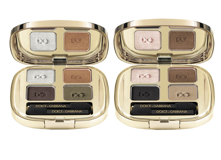 1. Eyeshadow Quad Enchanting Fall; 2. Eyeshadow Quad Smoky