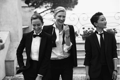 Эмили Блант и Кейт Бланшетт стали героинями рекламной кампании IWC