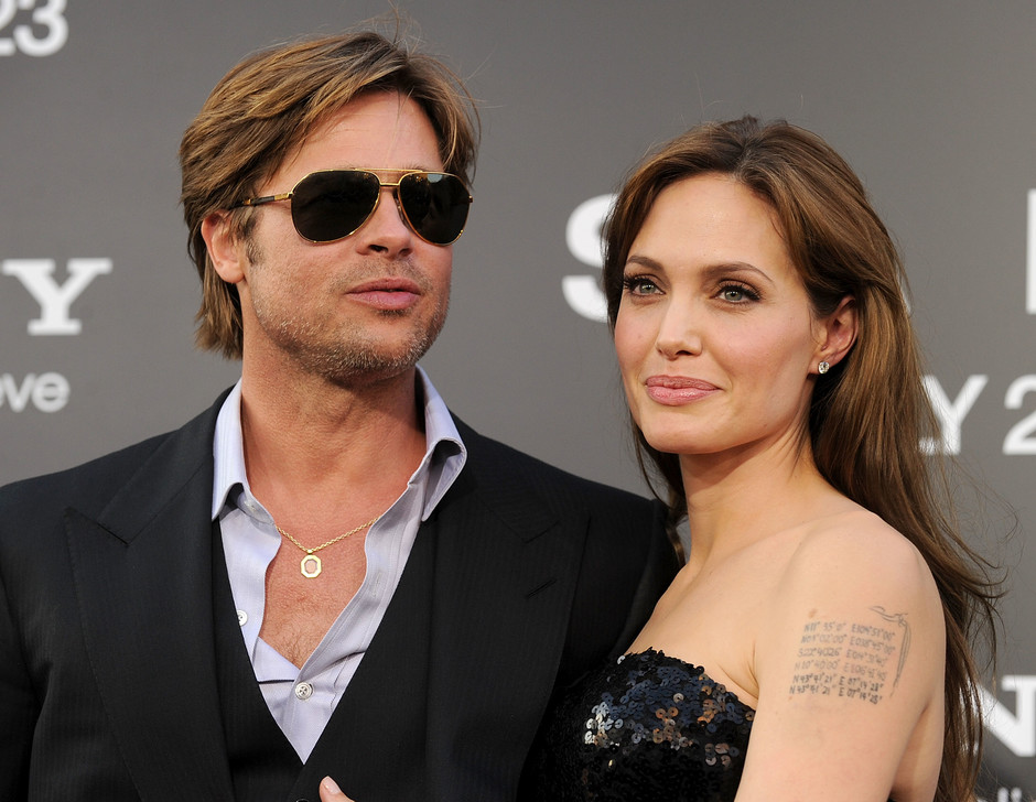 Брэд Питт и Анджелина Джоли, 2010 год