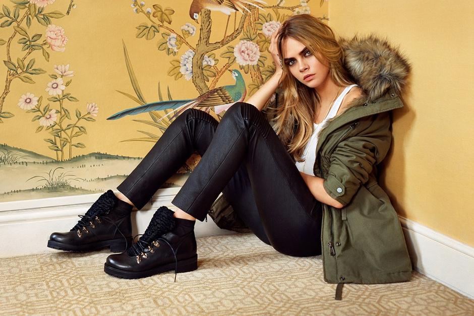 Рекламная кампания Topshop осень-зима 2014-15