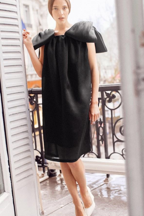 Платье от российского дизайнера Вики Газинской