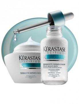 Kérastase представляет два новых продукта в гамме средств по уходу за чувствительной кожей головы Sensidote Dermo-Calm.