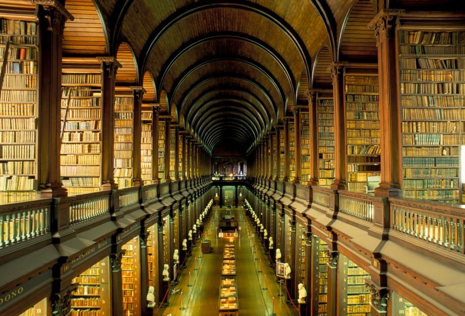 Библиотека Тринити-колледжа, Ирландия