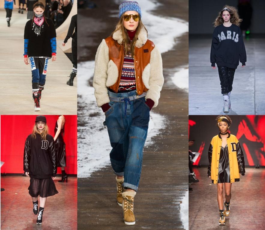 90-е годы в моде