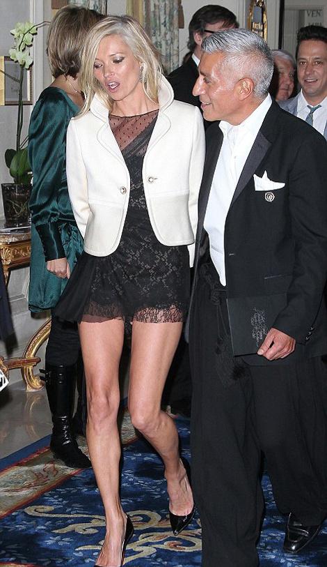 Кейт Мосс на Неделе моды в Париже
