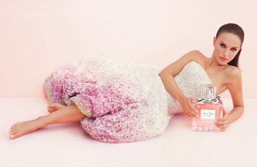 Натали Портман в рекламе Miss Dior Eau de Toilette