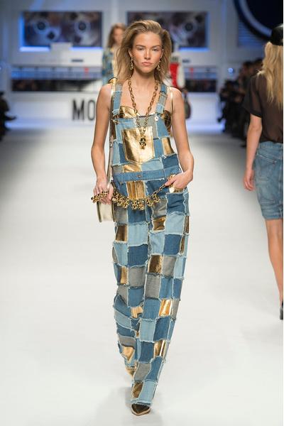 Показ Moschino на Неделе моды в Милане | галерея [4] фото [24]