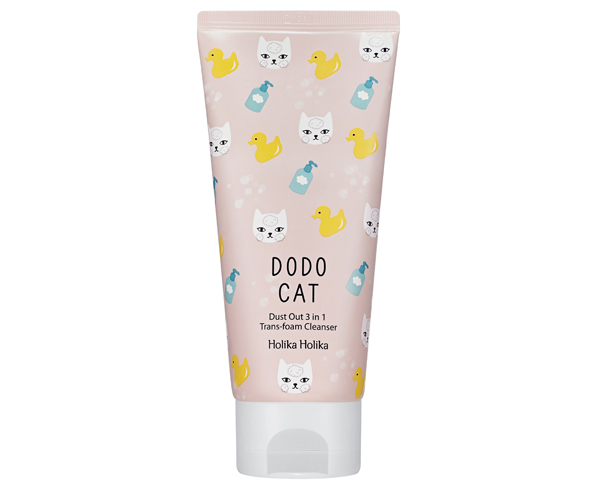 Holika Holika Dodo Cat Dust Out 3 in 1