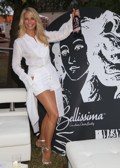 Фото дня: 62-летняя Кристи Бринкли на вечеринке в Нью-Йорке