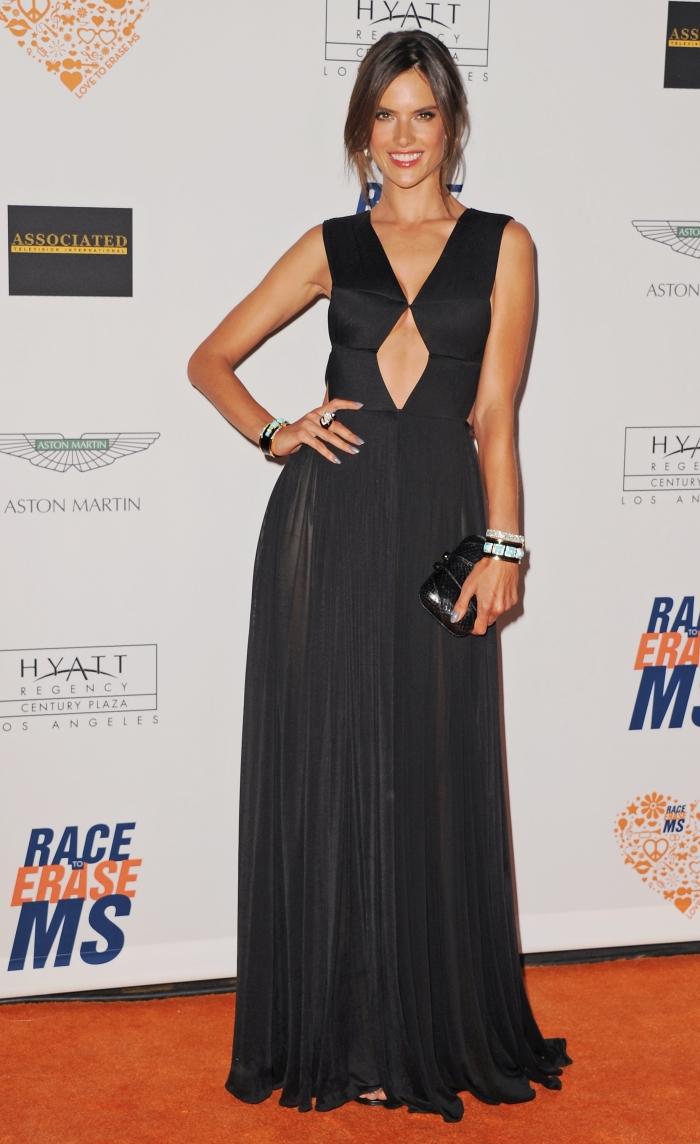 «Ангел» Victoria's Secret Алессандра Амбросио на гала-вечере в Лос-Анджелесе