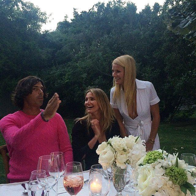 Кэмерон Диас отметила 42-летие в кругу друзей