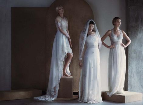 ЗАМУЖ НЕВТЕРПЕЖ: 10 самых красивых свадебных коллекций сезона | галерея [5] фото [7]