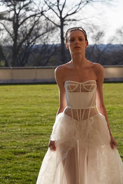 Лучшие коллекции Недели свадебной моды | галерея [4] фото [7]
