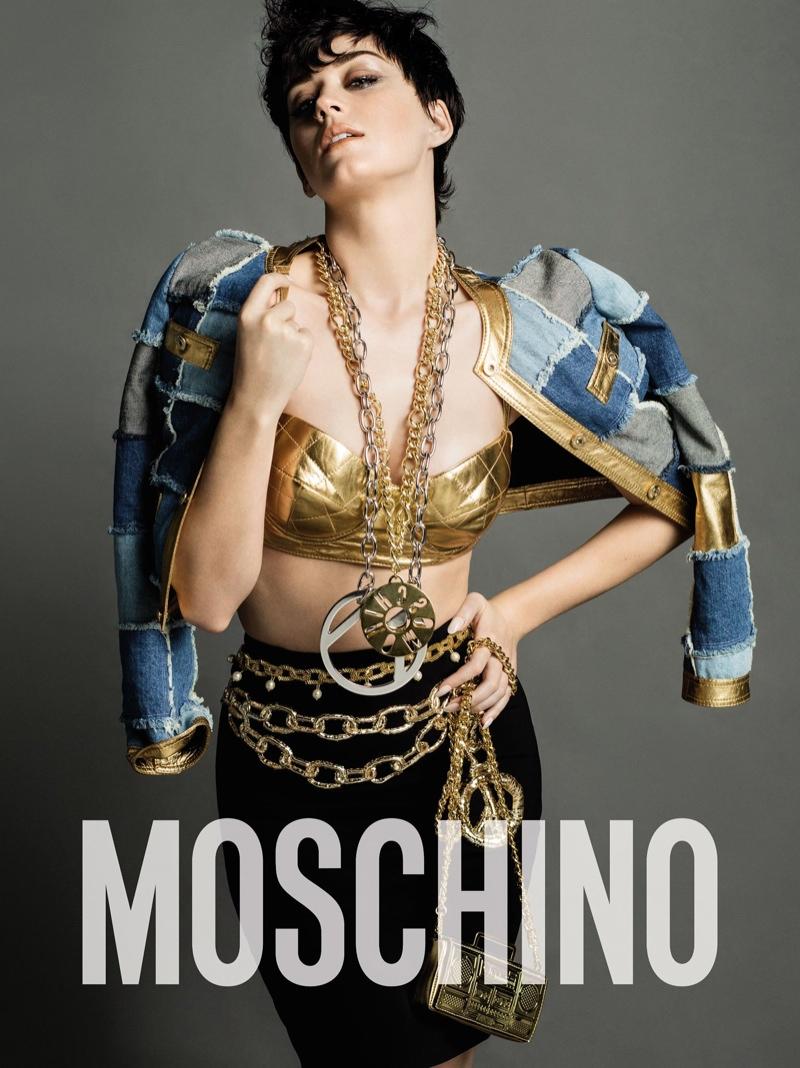 Кэти Перри стала лицом рекламной кампании Moschino