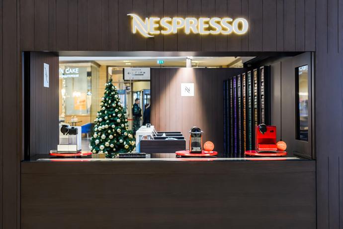Nespresso представляет второй Pop-Up бутик в ТРЦ «Афимолл Сити»