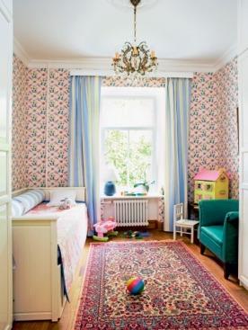 Вторую спальню превратили в комнату для любимой внучки