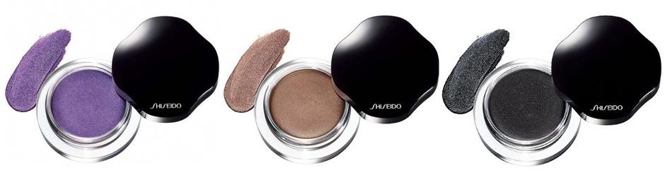 Кремовые тени для век с мерцающим эффектом Shimmering Cream Eye Color от Shiseido