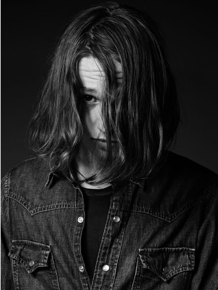 Джек Килмер в рекламе Saint Laurent
