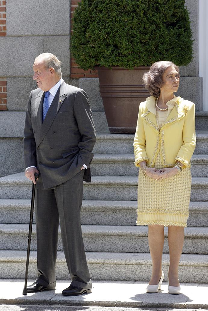 Хуан Карлос и София
