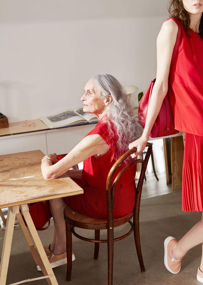 Дафна Селф в рекламе & Other Stories