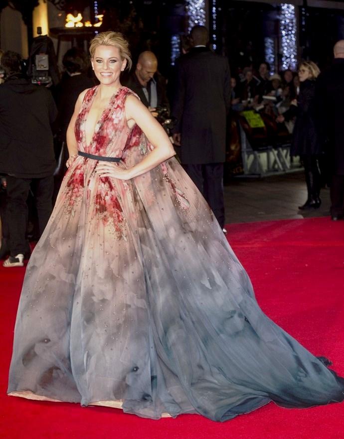 Элизабет Бэнкс в Elie Saab Couture