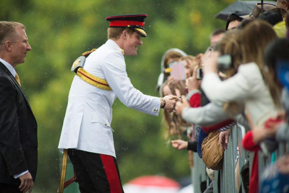 Принц Гарри отправился в командировку в Австралию