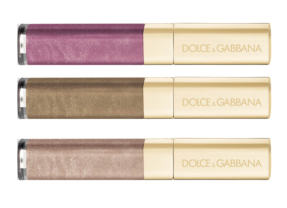 1. Intense Colour Gloss, Vibrant; 2. Sheer Shine Gloss, Desert; 3. Sheer Shine Gloss, Shimmer