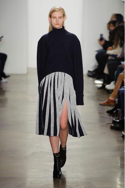 Самые красивые образы Недели моды в Нью-Йорке | галерея [1] фото [58]