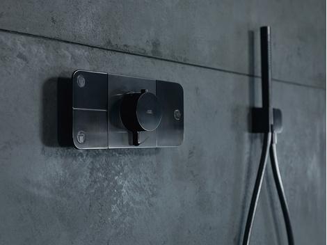 Система управления душем Axor One от дизайнеров Barber & Osgerby | галерея [1] фото [5]