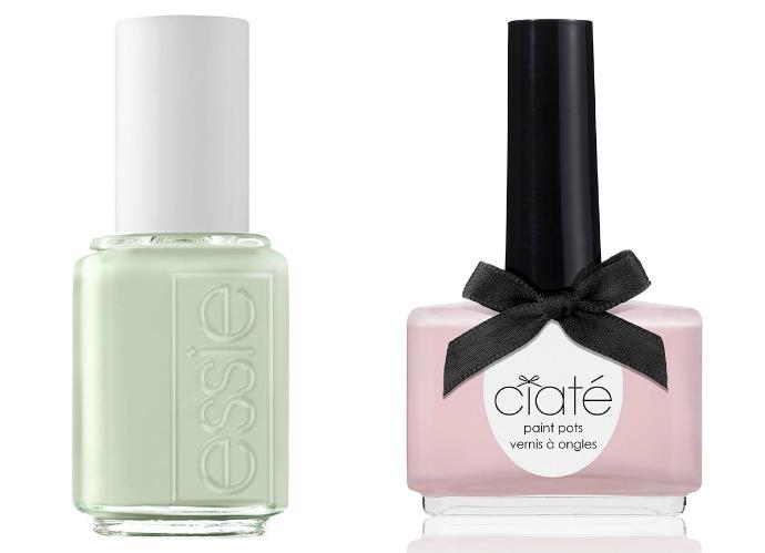 Выбор ELLE: Essie Absolutely Shore, Ciaté Strawberry Milkshake