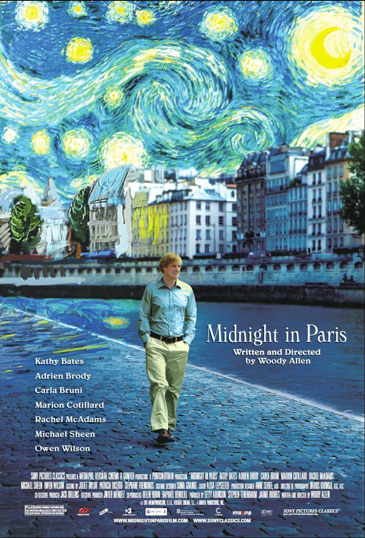 №4 «Полночь в Париже»
