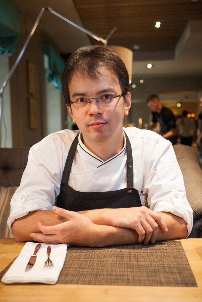 Тимур Абузяров, шеф-повар ресторан «Рулет»