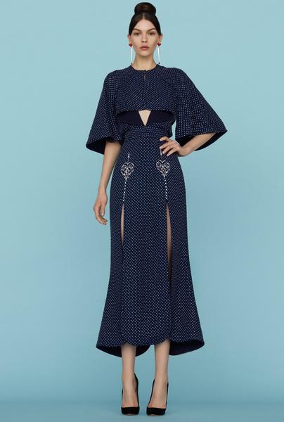 Ульяна Сергеенко представила новую коллекцию на Неделе высокой моды в Париже | галерея [1] фото [9]