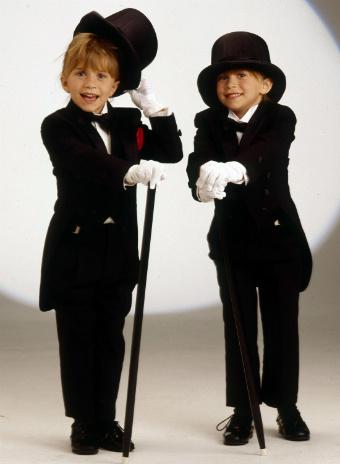 Мэри-Кейт и Эшли Олсен 1993 год
