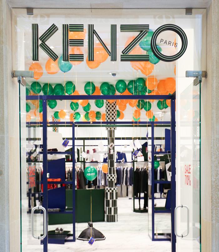 В бутике Kenzo состоится вечеринка Tea Time & Cocktail